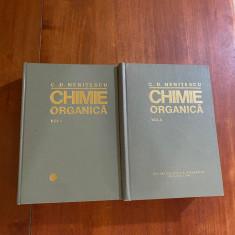 C. D. NENITESCU--CHIMIE ORGANICA - 2 VOLUME - 1980 - ED. VIII - IMPECABILA