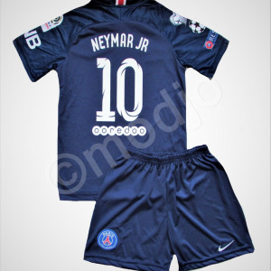 Compleu Echipament Fotbal PSG NEYMAR    pt copii 4-6 ani