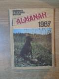 ALMANAH VANATORUL SI PESCARUL SPORTIV , 1987 , COTORUL ESTE LIPIT CU SCOCI