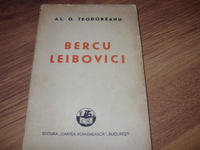 AL. O. TEODOREANU ( PASTOREL )  -  BERCU  LEIBOVICI   ( 1942 ) * foto