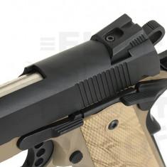 Pistol airsoft M1911 Gladiator Crixus - Dark Earth [APS]