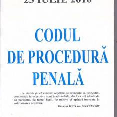 CODUL DE PROCEDURA PENALA ( 2010 )