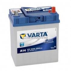 Acumulator baterie auto VARTA Blue Dynamic 40 Ah 330A cu borne inguste 5401260333132
