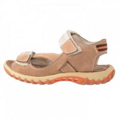 Sandale copii, din piele naturala, marca Hobby bimbo, B2627-3, bej