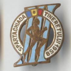 Insigna  1958 SPARTACHIADA TINERETULUI
