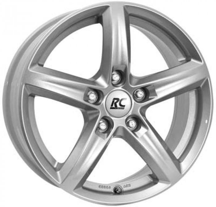 Jante OPEL CROSSLAND X 6J x 15 Inch 4X108 et23 - Rc Design Rc24 Ks Kristallsilber - pret / buc