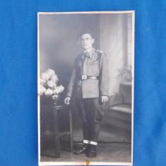 FOTOGRAFIE TIP CARTE POSTALA , MILITAR , 1941