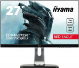 Monitor Gaming TN LED iiyama G-Master Red Eagle 27inch GB2760QSU-B1, WQHD (2560 x 1440), DVI, HDMI, DisplayPort,USB 3.0, Boxe, Pivot, 144 Hz, 1 ms (Ne