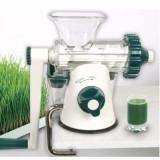 Storcator manual prin presare la rece Healthy Juicer green