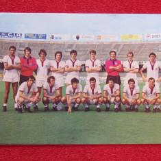 Foto (veche) - echipa de fotbal CAGLIARI Calcio (Italia sezonul 1971 - 1972)
