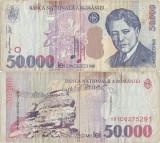 2000 , 50.000 lei (P-109Aa) - România