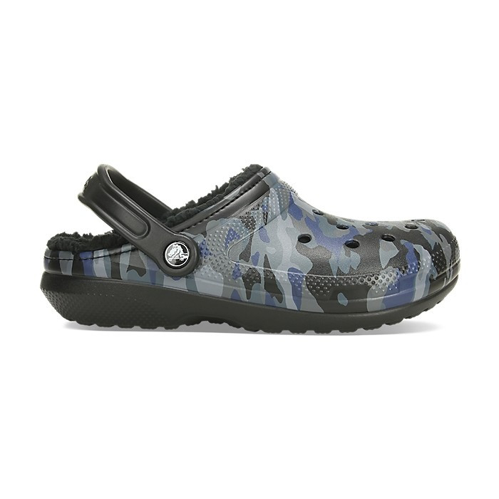 Saboți Adulti Unisex casual Crocs Classic Lined Graphic II Clog