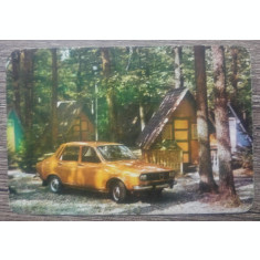 Calendar Dacia 1300/// anul 1977