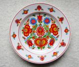 Farfurie cu decor boemian.Ditmar Urbach.Sigiliu Turn-Trnovany, 1925 - 1940.