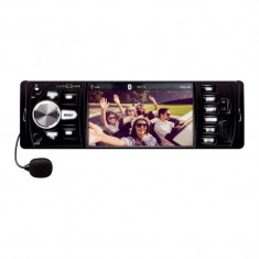 Radio auto Bluetooth TFT LCD 4.1inch, RDS, microfon, USB, microSD, telecomanda
