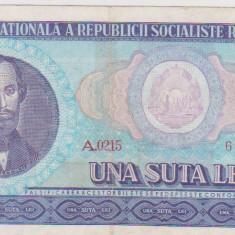 100 LEI 1966/UNC