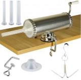 Carnatar Masina Aparat Manual Umplut Facut Carnat 1.5kg  5 Palnii. Carlig Afumat, Micul Fermier