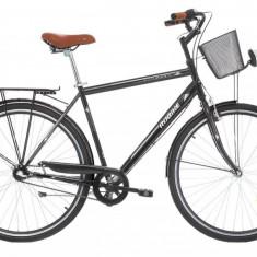 Bicicleta Robike City Man 28 neagra 2017 530mm
