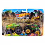 Set doua masini Hot Wheels, A51 Patrol, Test Subject, GJF67