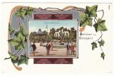 4445 - BOTOSANI, Park Belvedere, Litho, Romania - old postcard - unused, Necirculata, Printata