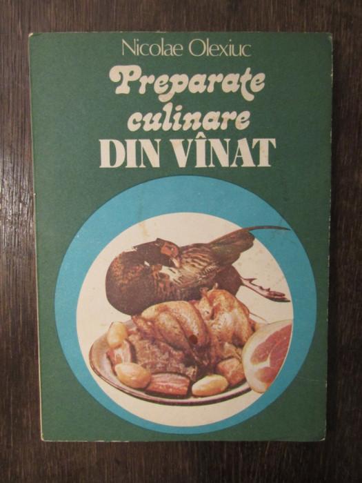 PREPARATE CULINARE DIN VINAT-NICOLAE OLEXIUC