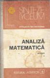 Analiza matematica - Catalin-Petru Nicolescu ( volumul 1 )
