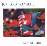 CD Electronic:  Jon Anderson and Vangelis ‎– Page of Life ( 1991 )