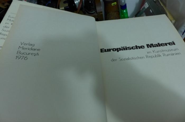 Europäische malerei in kunstmuseum der sozialistischen republik rumänien - Album