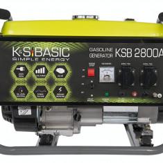 Generator curent 2,8 kW Könner & Söhnen KSB 2800А benzina