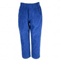 Pantaloni casual de catifea pentru baieti NN PCBA1A, Albastru