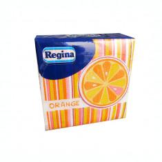 Servetele Regina Party cirese/portocale 30x29 cm 45 bucati