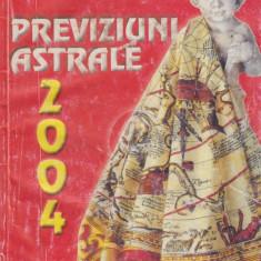 Previziuni astrale 2004