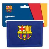 Portofel F.C. Barcelona Segunda Equipacion 2020, albastru