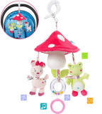 Carusel muzical mobil mini - Ciupercuta PlayLearn Toys