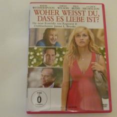 de unde stii ca-i dragoste - dvd