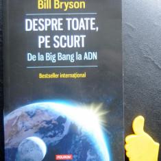 Despre toate pe scurt Bill Bryson