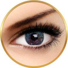 Fashion Lentilles Galaxy Bleu - lentile de contact pentru Halloween anuale - 365 purtari (2 lentile/cutie)