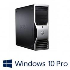 Statie Grafica Refurbished Dell Precision T3500, Hexa Core E5645, 12GB, Quadro 600, Win 10 Pro