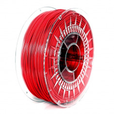 Filament Devil Design PETG pentru Imprimanta 3D 1.75 mm 1 kg - Roșu