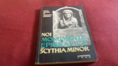 NOI MONUMENTE EPIGRAFICE DIN SCYTHIA MINOR foto