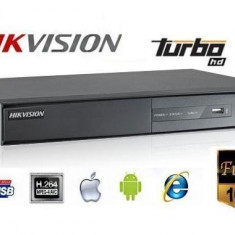 Videorecorder DVR 16 Canale Video 16 Audio Turbo HD Hikvision Full HD 1080p s