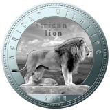 Zambia 1000 Kwacha 2014 UNC Leu 40mm argintiu