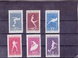 RTRNS - JOCURILE OLIMPICE DE LA ROMA II - AN 1960, Nestampilat