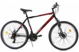 Bicicleta Mtb Kreativ 2605 500mm Negru Rosu 26