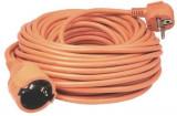 Prelungitor Home NV2-30/O, h05vv-f 3g1,0 mmp, 2300w, ip20, lungime 30 m (Portocaliu)