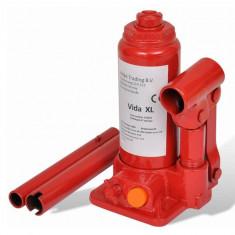 Cric hidraulic 2 tone pentru automobile Roșu