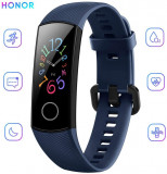 Honor Band 5, Midnight Navy. Smartwatch Bratara fitness, Aluminiu, Albastru, Huawei