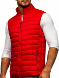 Vestă matlasată roșie Bolf HDL88001