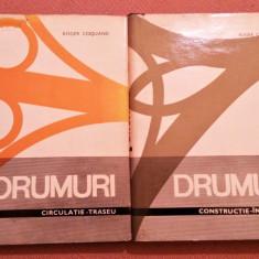 Drumuri. 2 Vol. (Constructie-Intretinere. Circulatie-Traseu) - Roger Coquand, Alta editura, 1968