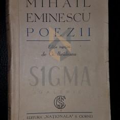 "IBRAILEANU G. - MIHAIL EMINESCU ""POEZII"", Bucuresti, 1930"